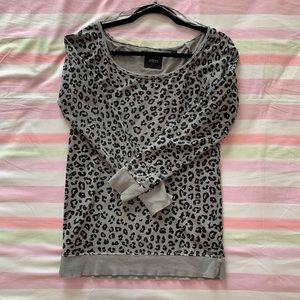 GUESS Leopard Knit XS